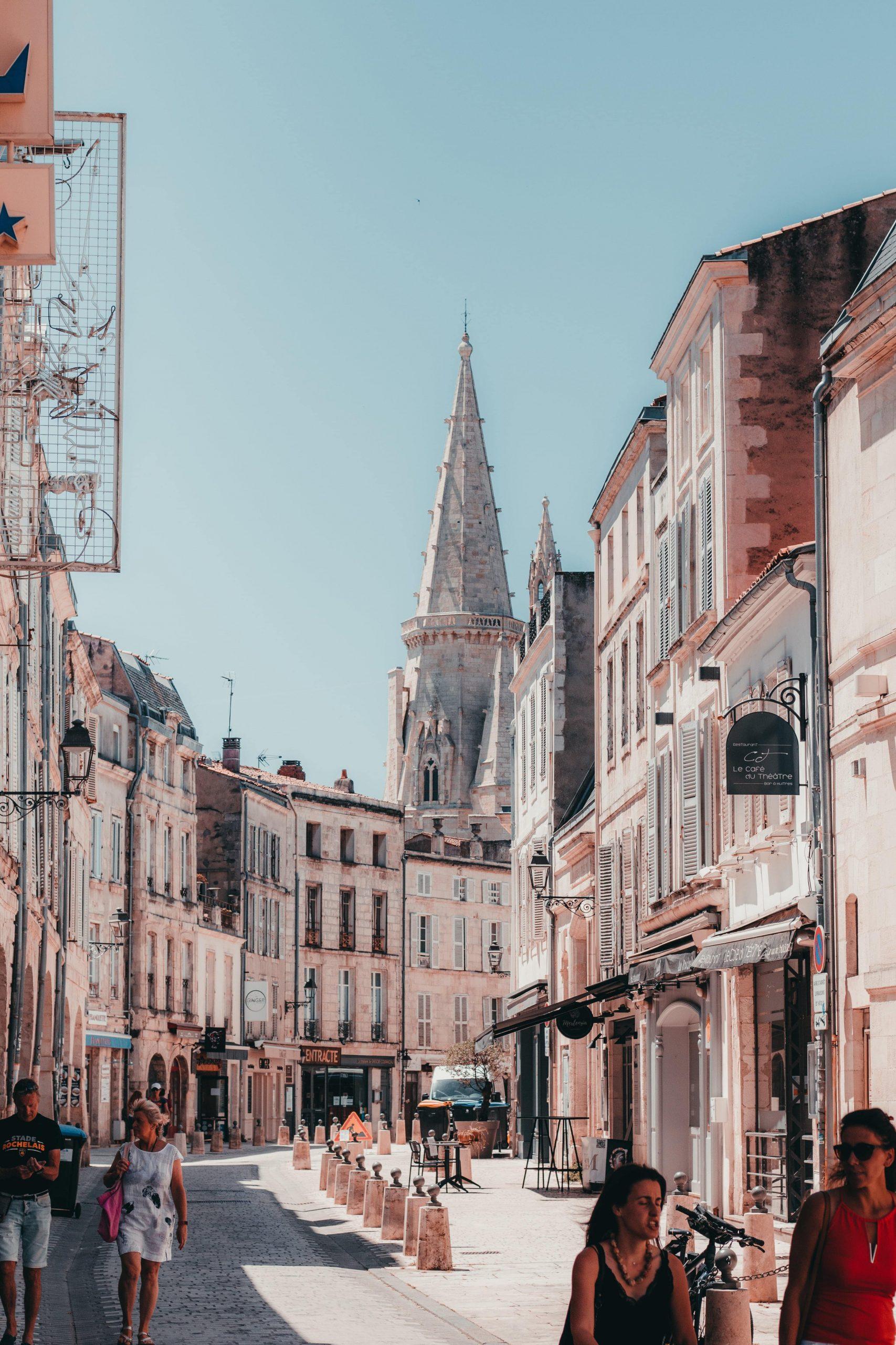 Tours de La Rochelle en été
